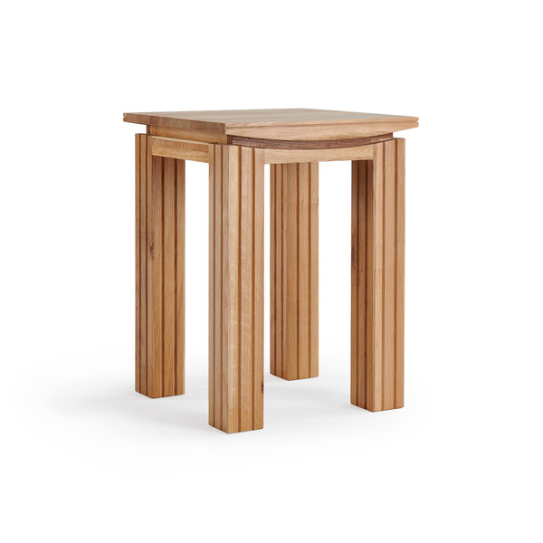 Kyoto Natural Solid Oak Side Table thumbnail