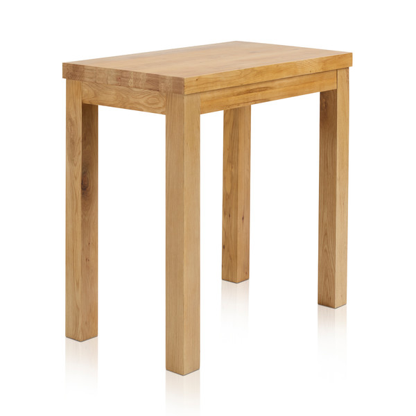 Rhodes Natural Solid Oak 3ft 3 By 2ft Breakfast Table thumbnail