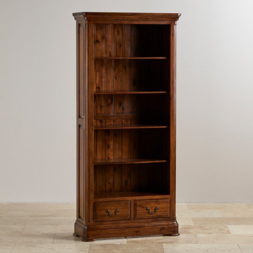 Cranbrook Solid Hardwood Tall Bookcase