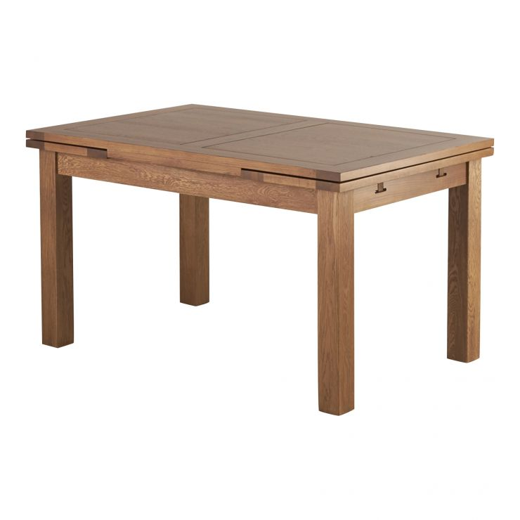 Dark Wood Dining Table | Sherwood Range | Oak Furnitureland