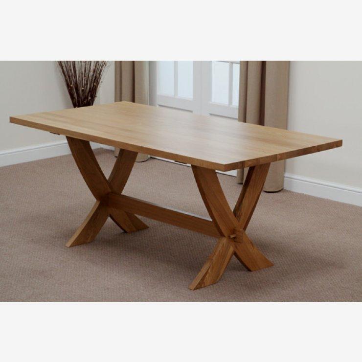 Cross Leg Dining Tables X Extending Designs In Top