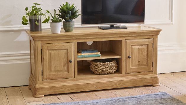 Oak TV Units & Stands   Solid Wood TV Cabinets   Oak Furniture Land