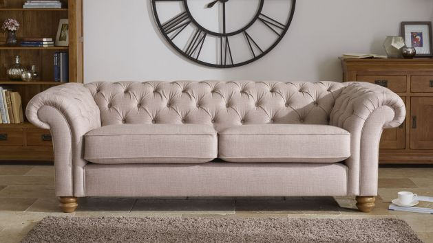 Fabric Sofas Chesterfield Range Oak Furniture Land