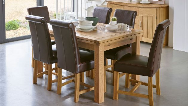 Oak Small Dining Tables 4ft Dining Tables Oak