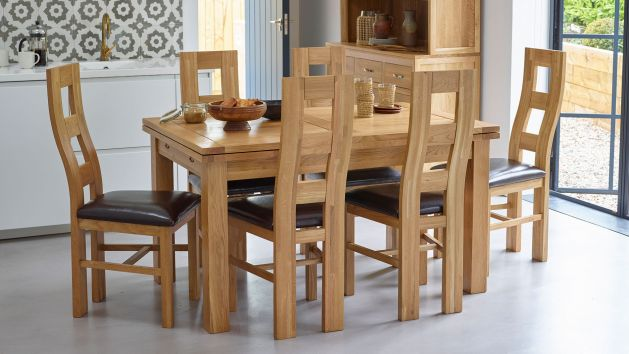 Oak Rectangle Dining Tables 5ft Dining Tables Oak