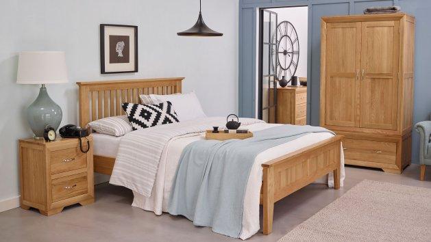 Bedroom Furniture | Solid Oak Bedroom Sets UK | Oak Furniture Land