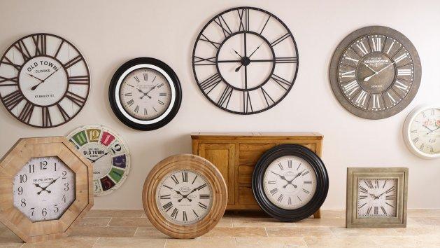 Wall Clocks Clocks Free Delivery Oak Furniture Land