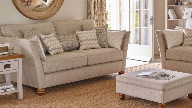 fabric sofas the gainsborough range oak furniture land. Black Bedroom Furniture Sets. Home Design Ideas
