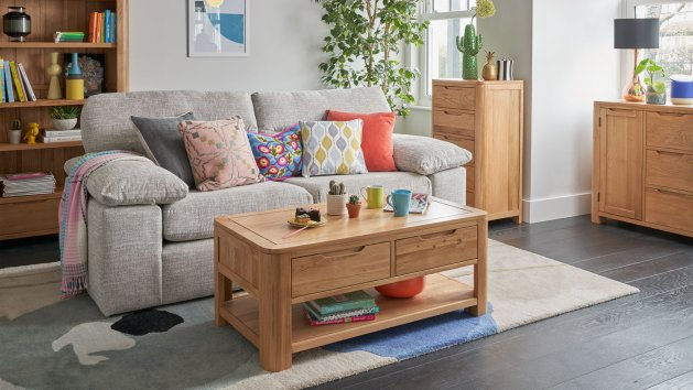 Living Room Furniture Solid Oak Living Room Sets Oak