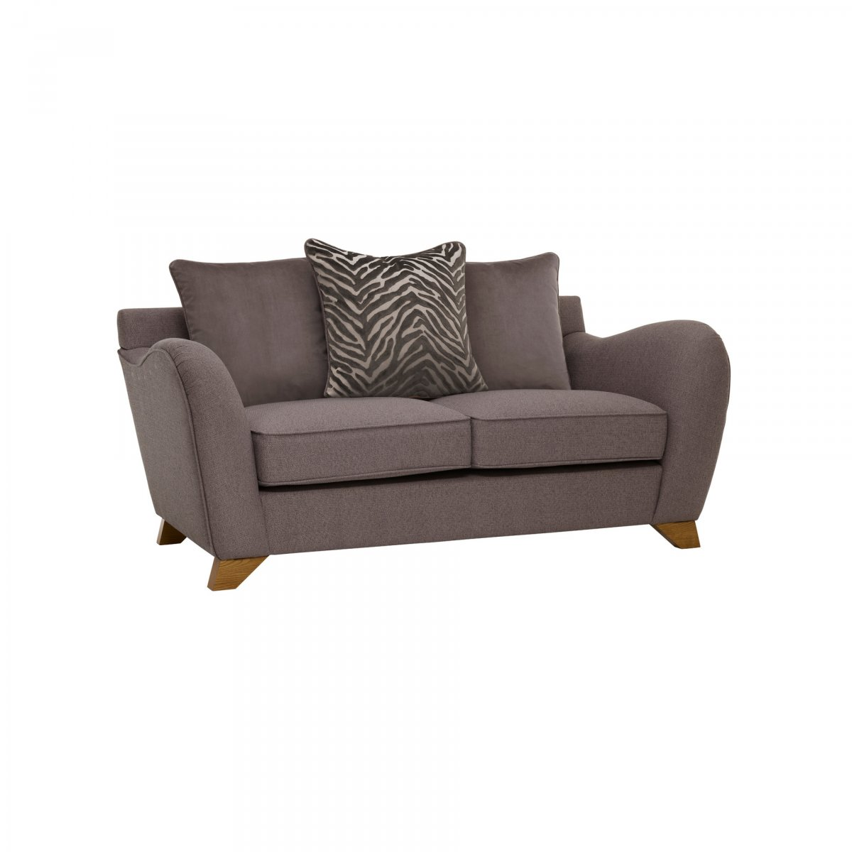 Pillows Traditional Sofa: Abbey Traditional 2 Seater Pillow Back Sofa
