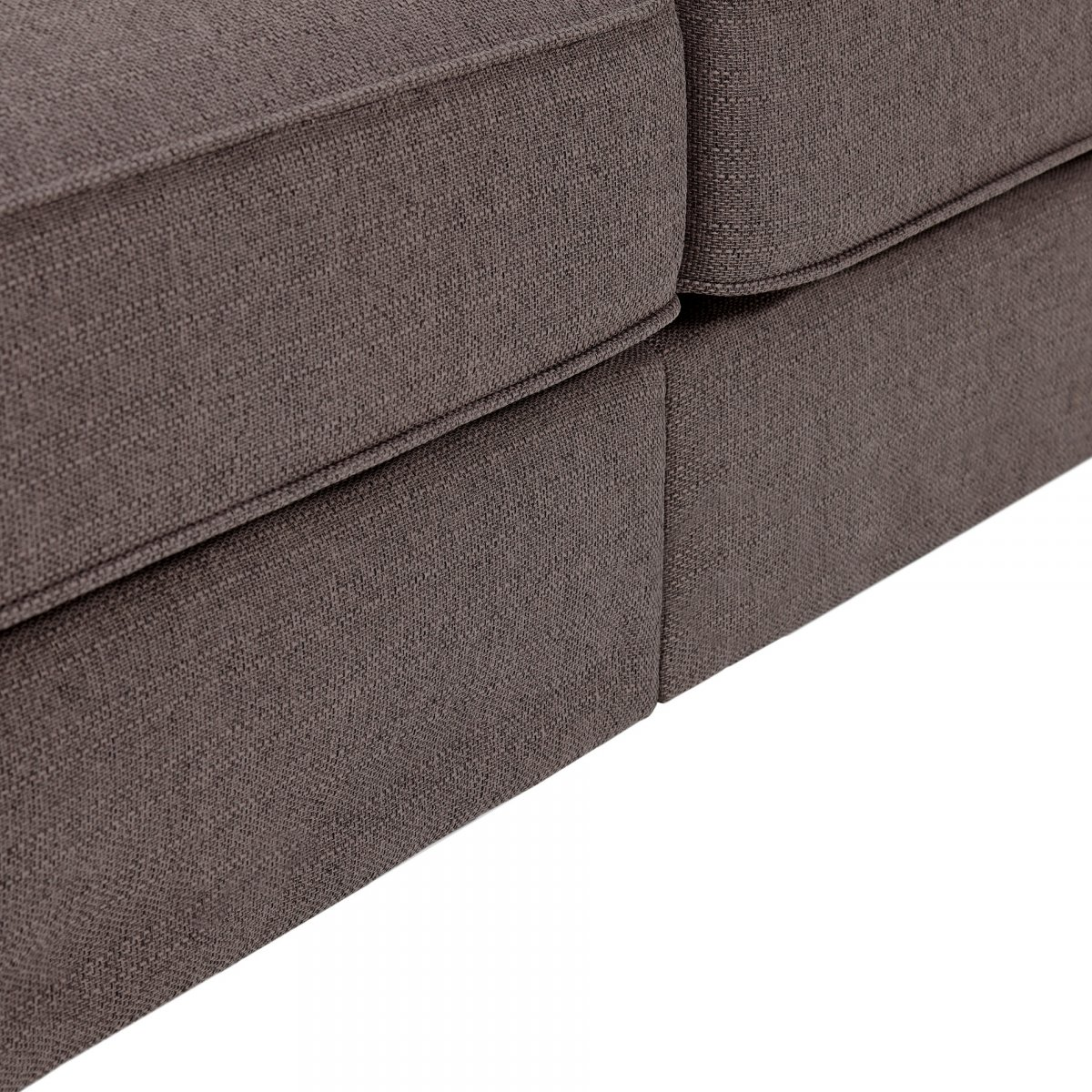 Abbey Traditional Pillow Back 3 Seater Fabric Sofa