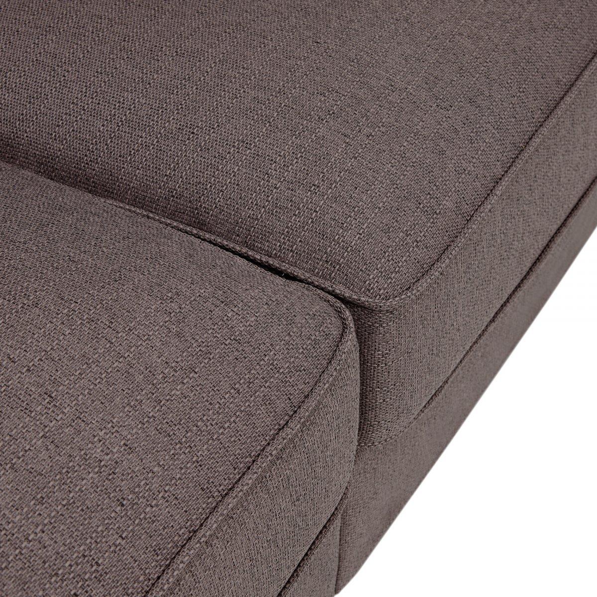 Abbey Traditional Large Sofa, Pillow Back Oak Furniture Land