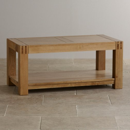 Alto Natural Solid Oak Coffee Table