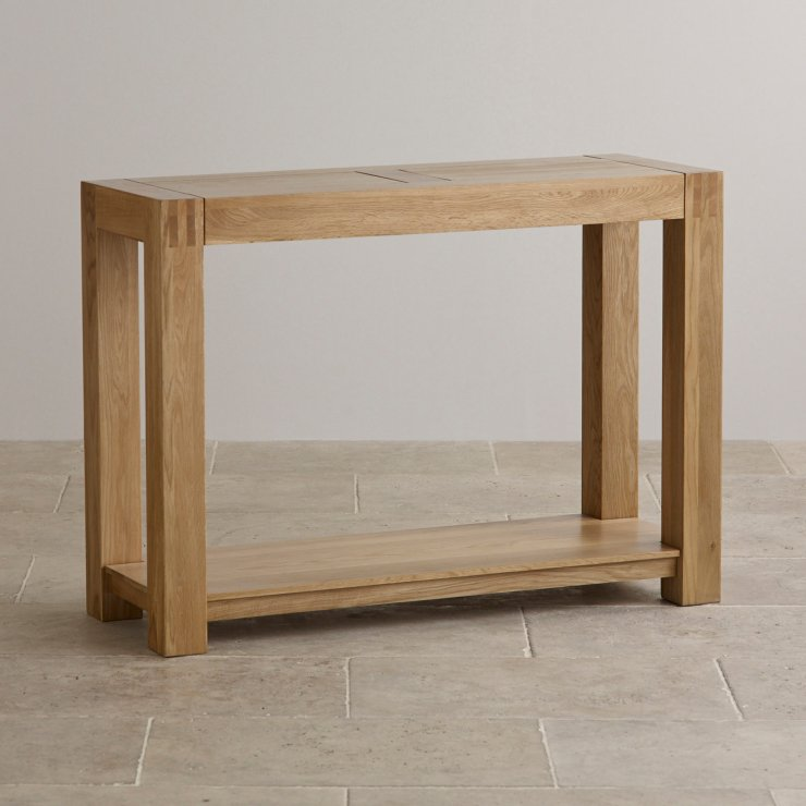 Alto Console Table In Natural Solid Oak Furniture Land