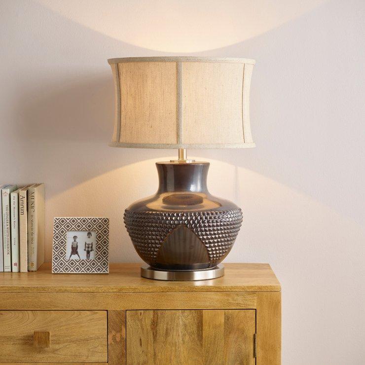 Anzio Lamp By Oak Furniture Land