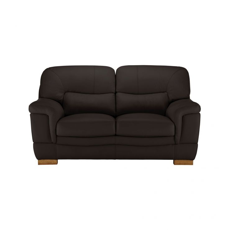 Brandon 2 Seater Sofa In Brown Leather