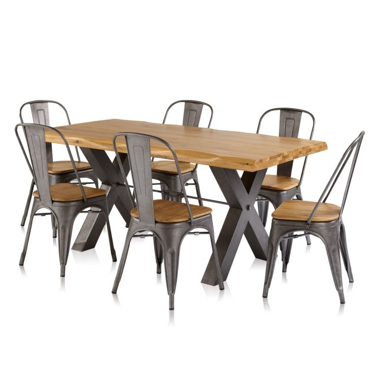Brooklyn Dining Table With 6 Chairs