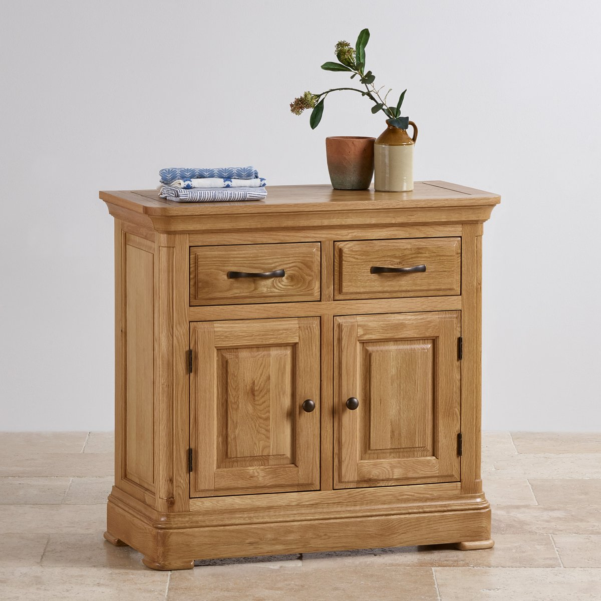 canterbury small sideboard solid oak oak furniture land. Black Bedroom Furniture Sets. Home Design Ideas