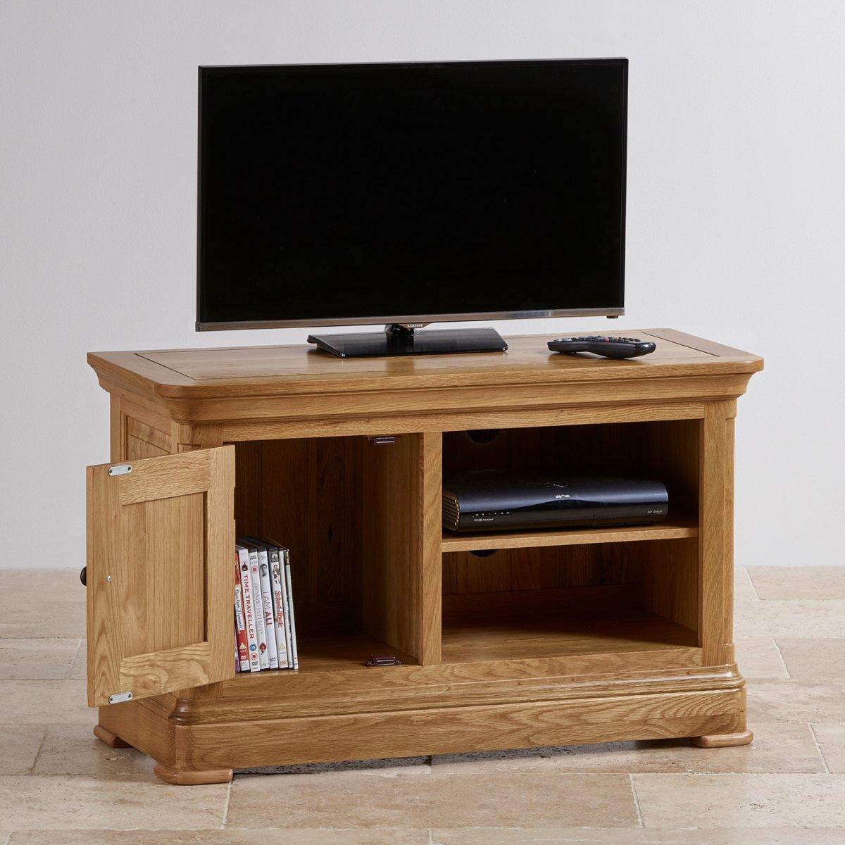 Canterbury Tv Cabinet Solid Oak Oak Furniture Land