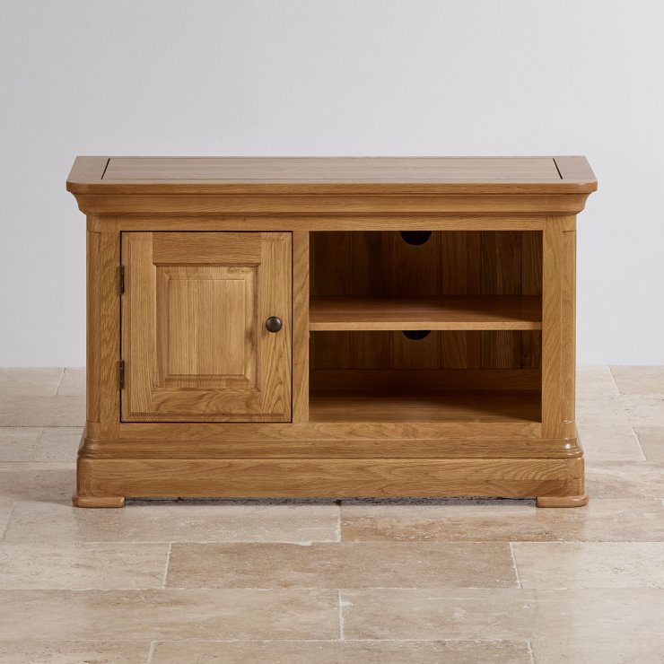 Canterbury Natural Solid Oak Small TV Cabinet