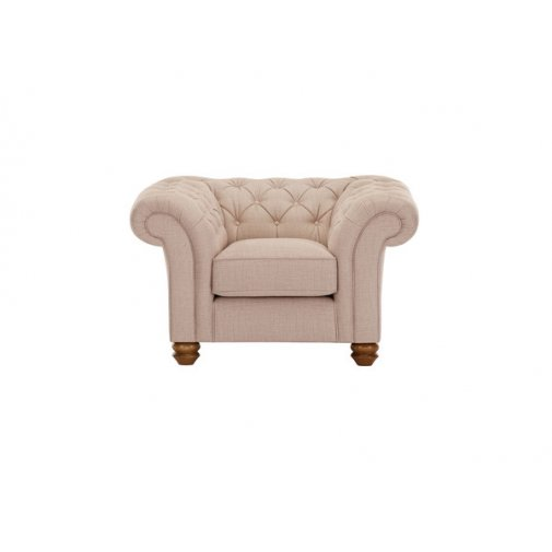 Chesterfield 2 Seater Sofa in Orchid Beige Oak Furniture Land