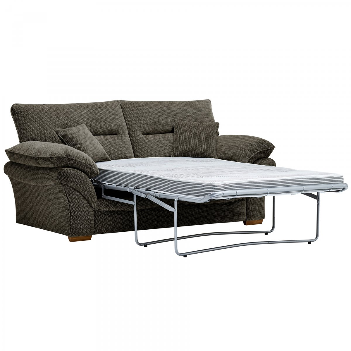 Chloe 2 seater sofa bed with deluxe mattress duck egg for Sofa bed 4 in 1