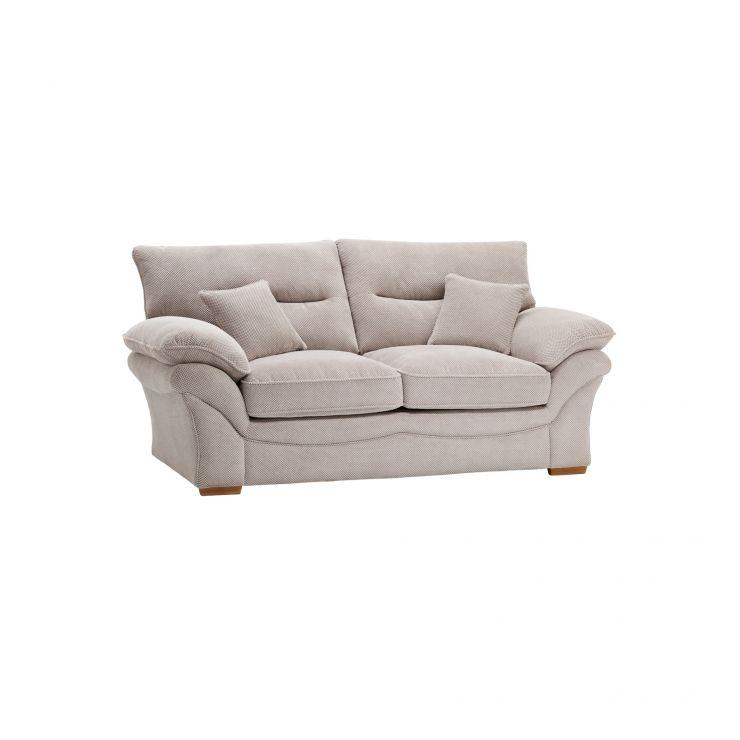 Chloe 2 Seater Sofa in Silver | Oak Furniture Land