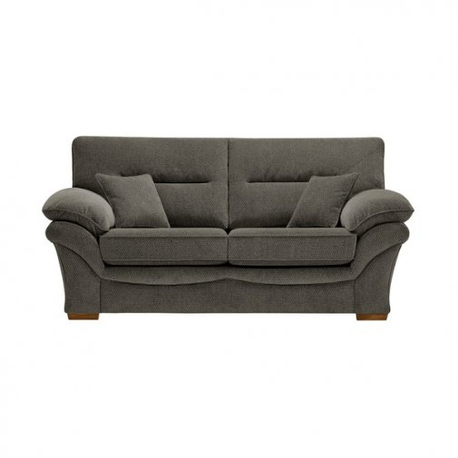 Chloe 2 Seater Sofa High Back in Mizuna Fabric - Duck Egg