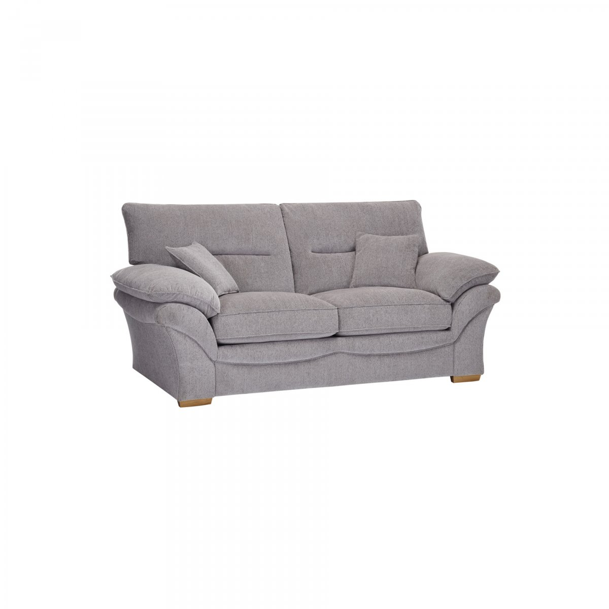 Chloe 2 Seater Sofa Bed In Logan Fabric Grey