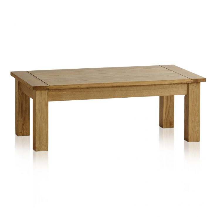 Pleasing Contemporary Natural Solid Oak Coffee Table Unemploymentrelief Wooden Chair Designs For Living Room Unemploymentrelieforg