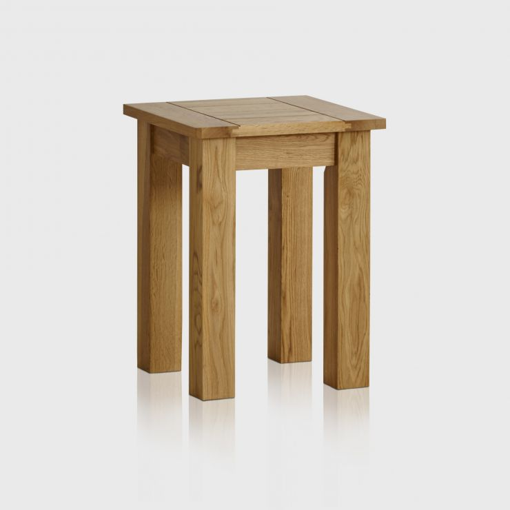 Contemporary natural solid oak lamp table oak furniture land contemporary natural solid oak lamp table image 1 express delivery aloadofball Image collections
