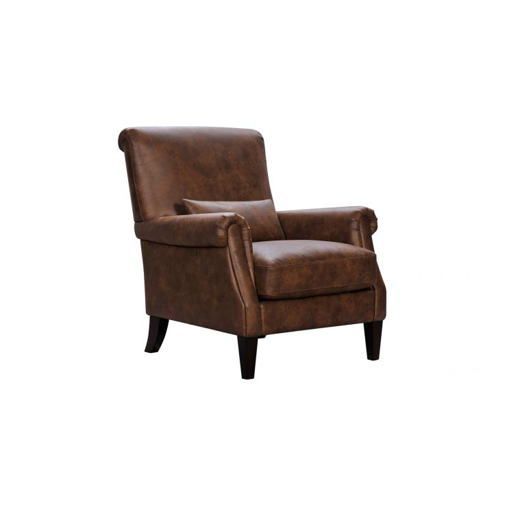 Astonishing Costello Light Brown Fabric Accent Chair Gmtry Best Dining Table And Chair Ideas Images Gmtryco