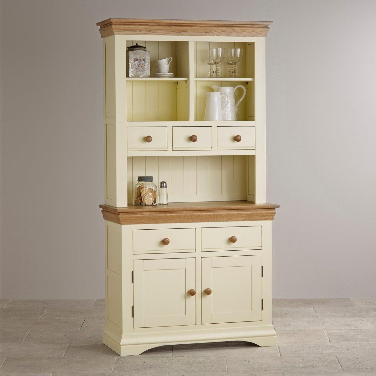 country cottage dresser in painted oak oak furniture land. Black Bedroom Furniture Sets. Home Design Ideas