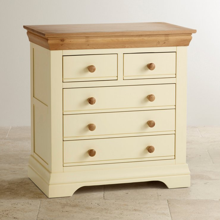 Country Cottage Nursery Painted Chest Of Drawers In
