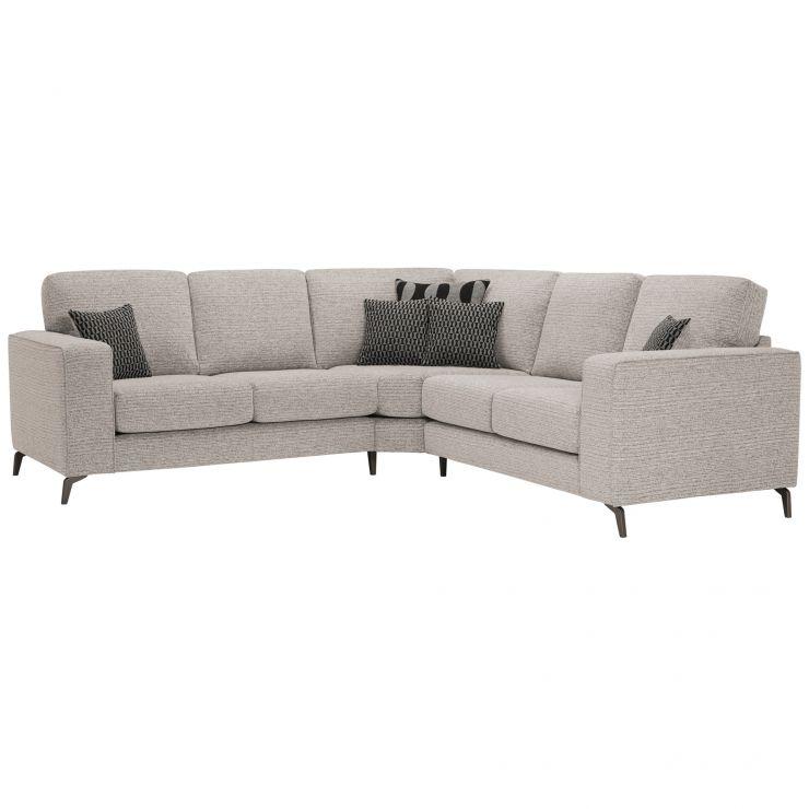 Cube Stone 2 x 2 Corner Sofa | Oak Furnitureland