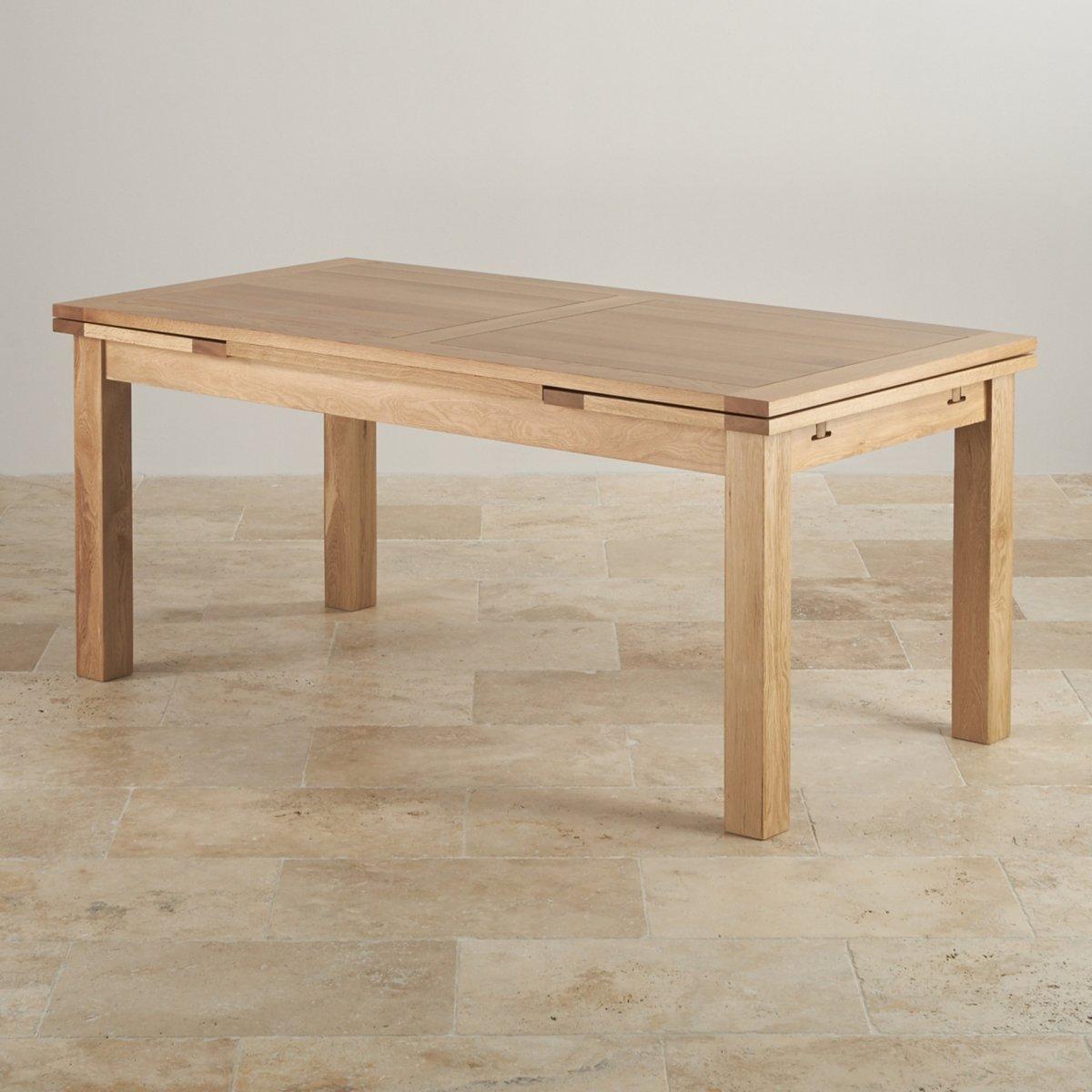 Dorset Extending Dining Table In Natural Oak