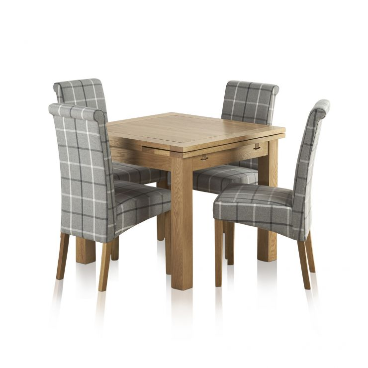 Sorry Your Browser Does Not Support This Video Dorset Natural Solid Oak 3ft Dining Table With 4 Chairs