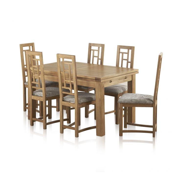 6c46b5de49 Dorset Natural Oak Dining Set - 4ft 7