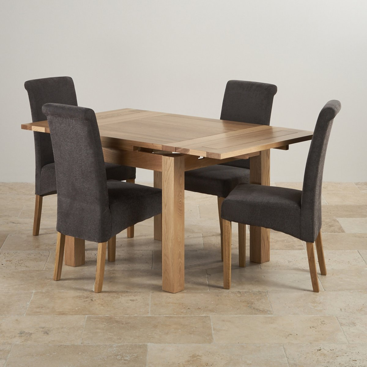 Sorry Your Browser Does Not Support This Video Dorset Natural Solid Oak 3ft Dining Set With 4 Chairs
