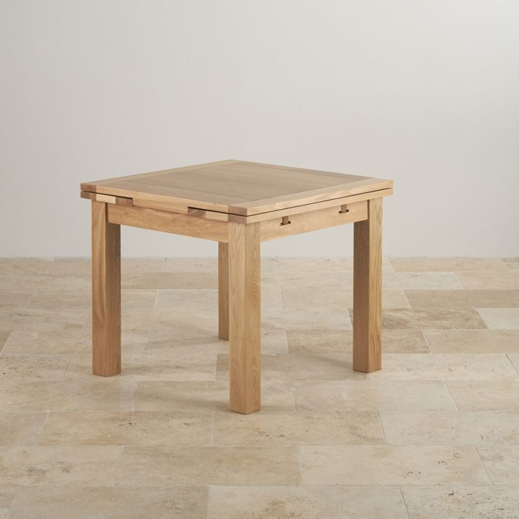 3ft Table With 4 Beige Chairs: Dorset Oak 3ft Dining Table With 4 Charcoal Chairs