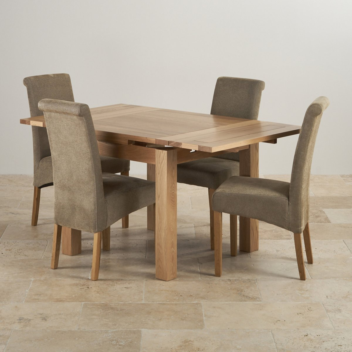 Dorset Oak 3ft Dining Table with 4 Sage Fabric Chairs : dorset natural solid oak dining set 3ft extending table with 4 scroll back plain sage fabric chairs 56f3fe393a06d99517e717d3145349153f212bc5646e2 from www.oakfurnitureland.co.uk size 1200 x 1200 jpeg 146kB