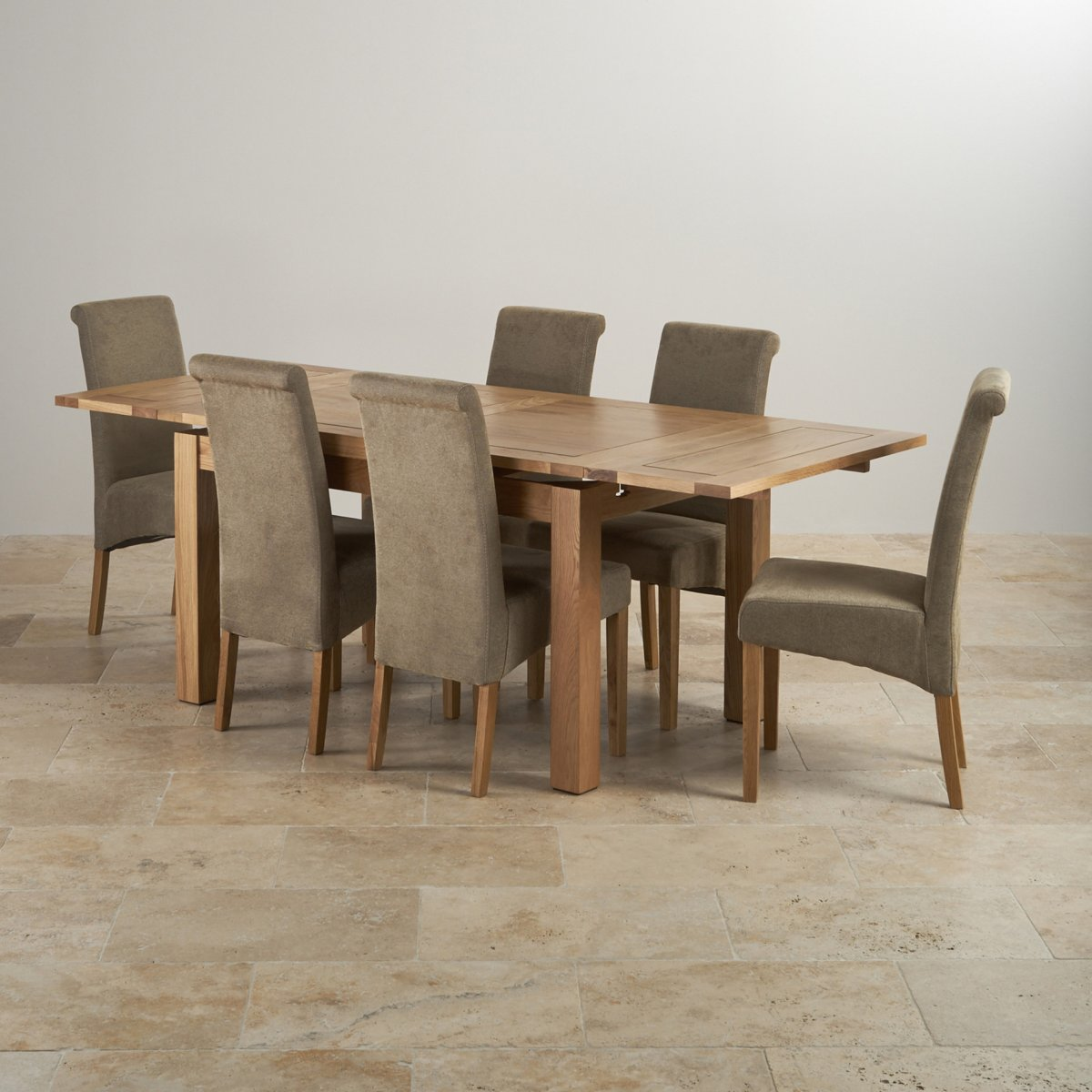 Dorset Oak 4ft 7quot Dining Table with 6 Sage Chairs : dorset natural solid oak dining set 4ft 7 extending table with 6 scroll back plain sage fabric chairs 56f52587e4243cd92d6237e5db6b4025461a3118c53d0 from www.oakfurnitureland.co.uk size 1200 x 1200 jpeg 152kB