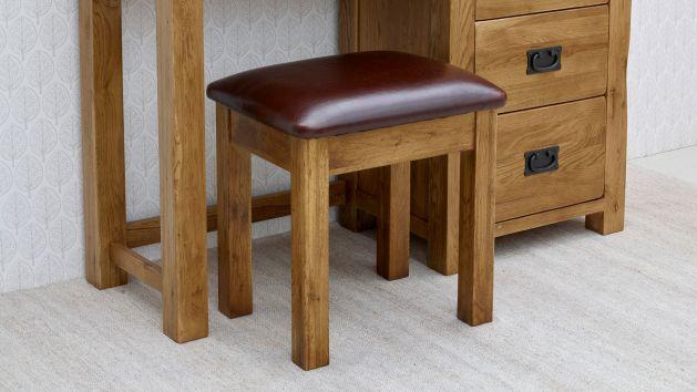 Dressing Table Stools Makeup Stools Oak Furnitureland