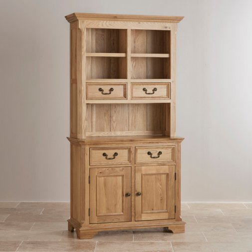 Edinburgh Natural Solid Oak Small Dresser