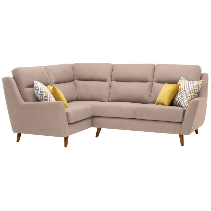 What Does Right Hand Corner Sofa Mean: Fraser Right Hand Corner Sofa In Mink Fabric