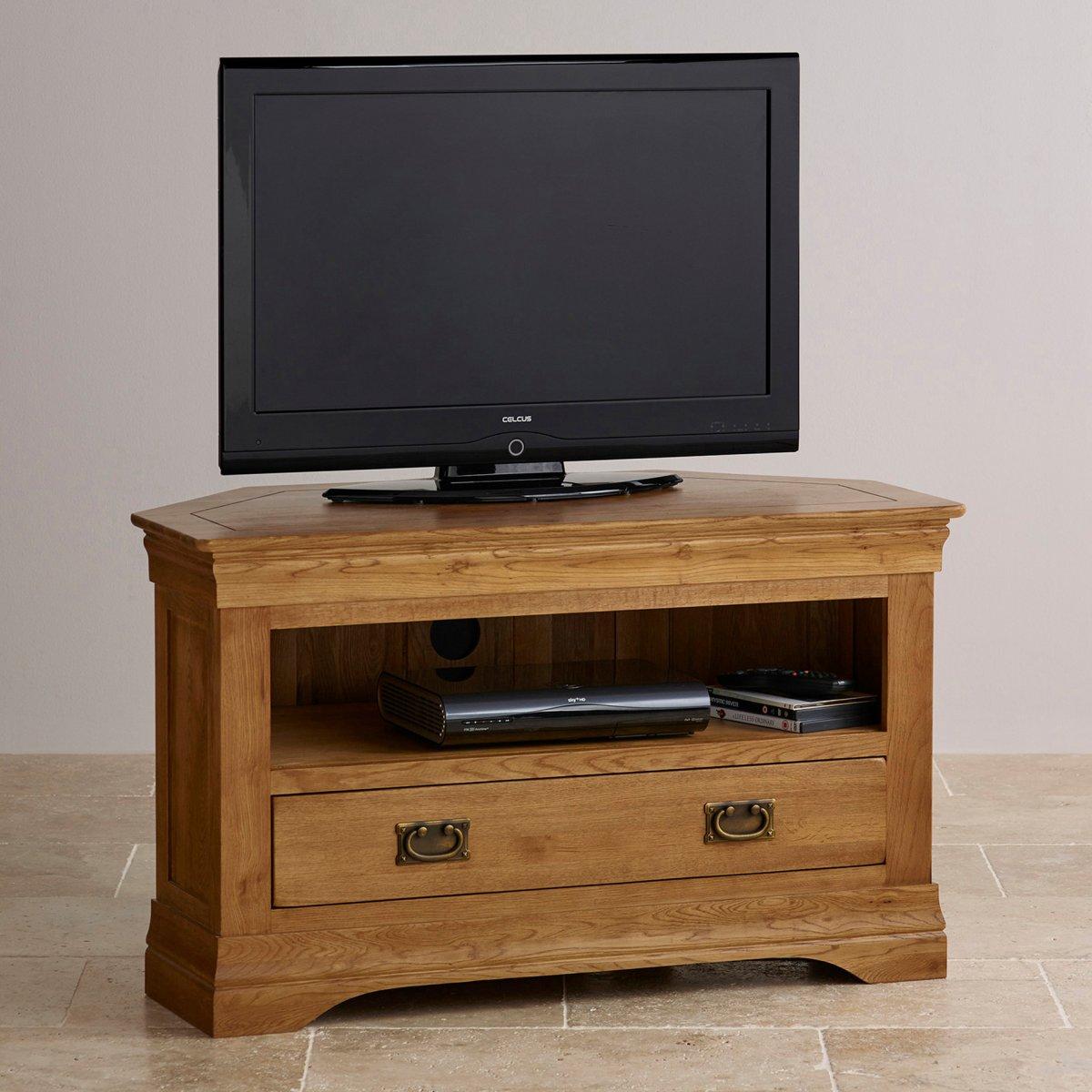 Corner Cabinet Oak Furniture Land
