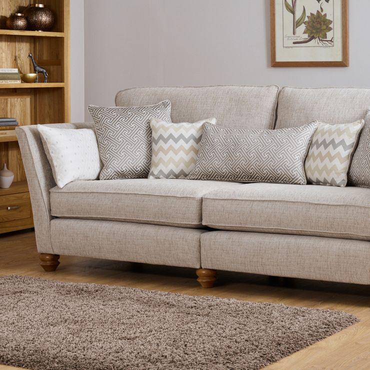 Gainsborough 4 Seater Sofa Beige Fabric