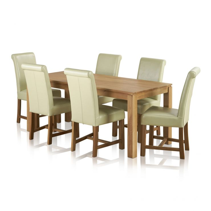 Galway Dining Set In Natural Oak