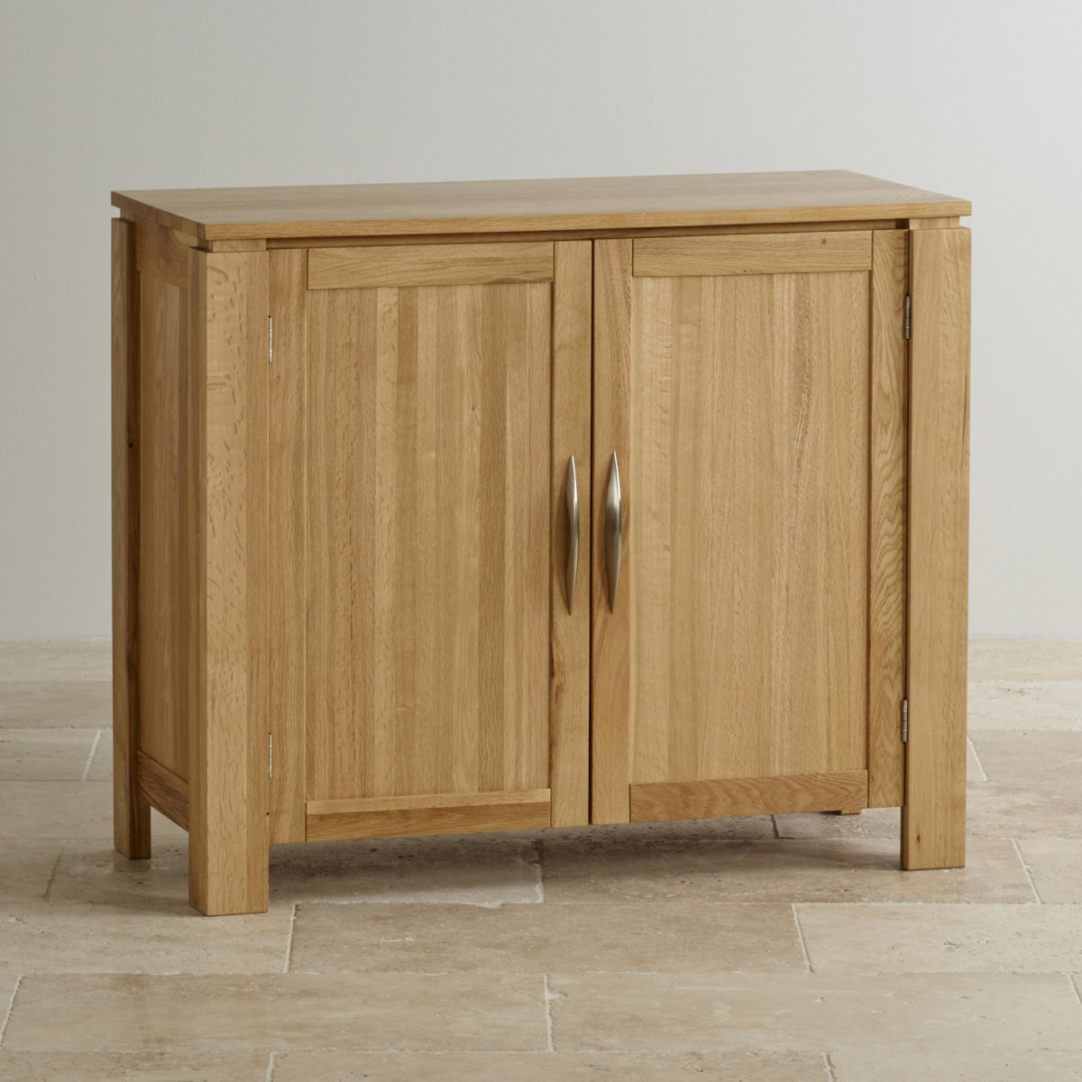 Galway small sideboard in natural solid oak oak for Solid oak furniture