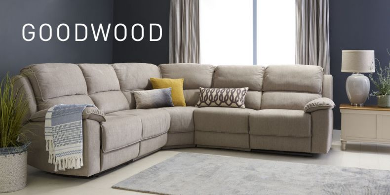 Goodwood Fabric Modular Sofas Oak Furnitureland